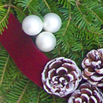 Winter Elegance Wreath Decorations