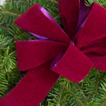 Winter Elegance Wreath Bow