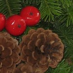 Maine balsam wreath decoration