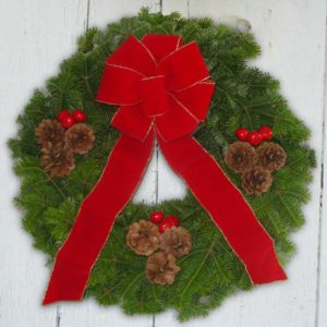 Maine Balsam Wreath