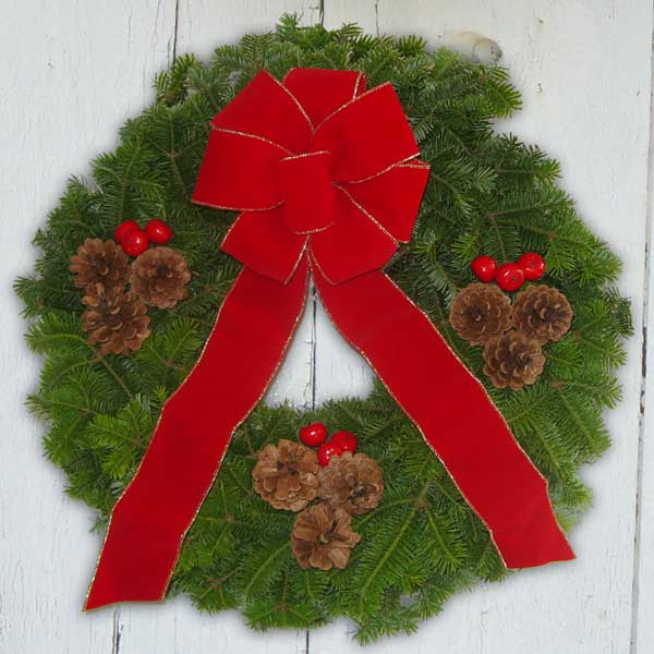 Maine Balsam Wreath