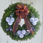 Custom Motorycycle Wreath