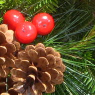 Maine Woods Wreath Decorations